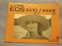 Canon EOS 1000FN Instructions  £2.49